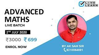 Advanced Maths by A. K. Sah