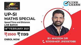 UPSI Maths Special Batch by Waseem Sir