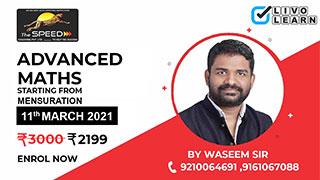 Advanced Maths by Waseem Sir