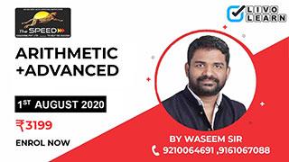 Arithmetic + Advanced Maths by Waseem Sir