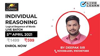 Individual Reasoning By Deepak Sir